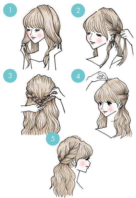 brilliant  minute hairstyles  girl