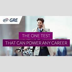 Gre® Test For Business Or Graduate School  Take The Gre®