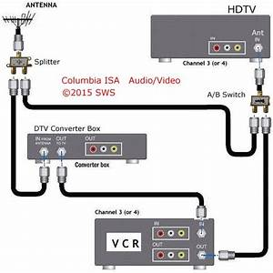 Diagram Hookup For Viewing One Show While Recording Another