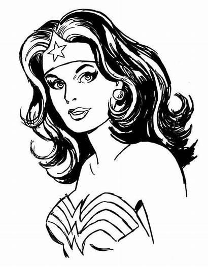 Wonder Woman Clipart Drawing Clip Coloring Pop