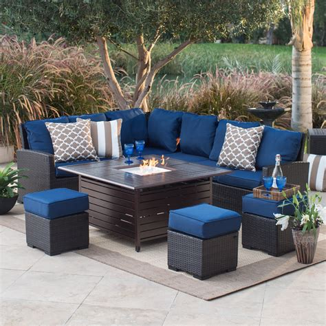 patio pit set pit table set on hayneedle patio pit seating