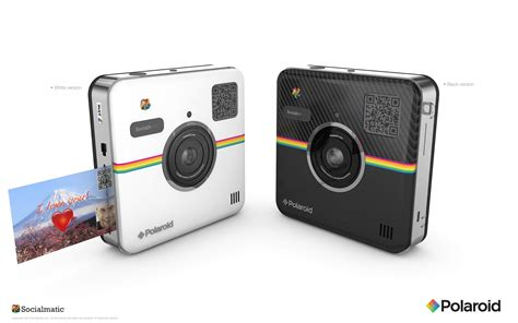 polaroid digital instant print the polaroid socialmatic is an android and an