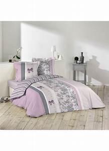 Parure De Lit Marbre : parure de lit 2 personnes charmance violet homemaison vente en ligne parures de lit ~ Melissatoandfro.com Idées de Décoration
