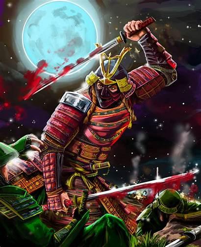 Badass Samurai Dual Katana Wielding Rossowinch Deviantart