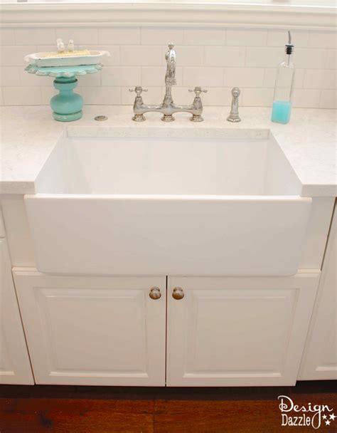 counter depth farmhouse sink farmhouse sink sizes befon for
