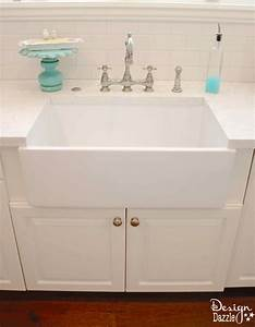 The benefits of a farmhouse sink design dazzle for Apron sink cost