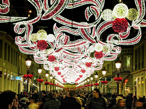 christmas decorations in spain celebrate in andalusia andalusian style spain lights outdoor