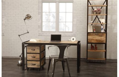 industrial style home office desk 16 classy office desk designs in industrial style