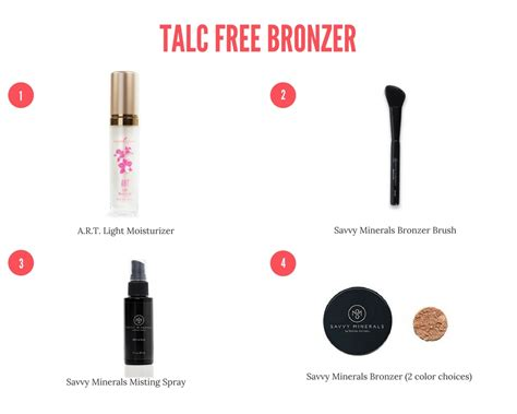 talc  bronzer  healthy happy home project