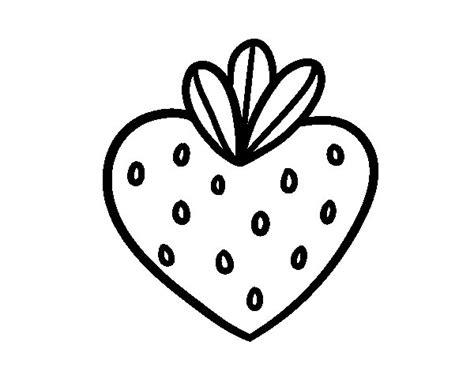 disegno cuore da stare e colorare disegno di fragola cuore da colorare acolore
