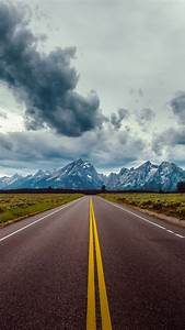 Wallpaper, Road, Sky, Clouds, Mountains, 8k, Nature, 17775