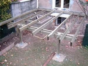 Faire Une Terrasse En Dalle : comment faire une terrasse en beton dalle autocollante ~ Voncanada.com Idées de Décoration