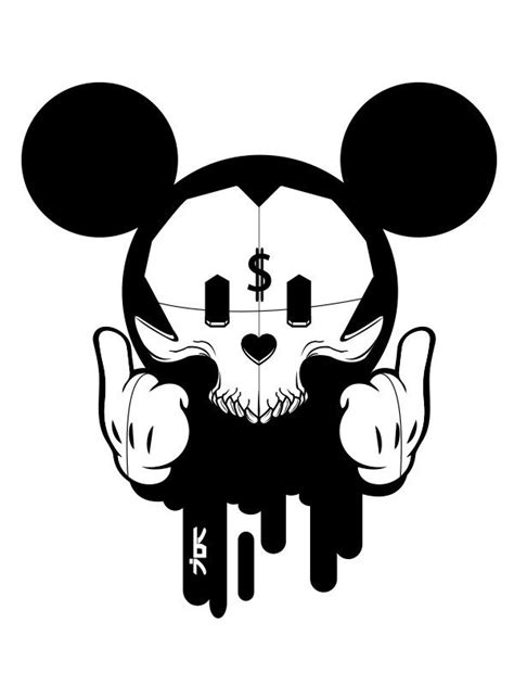 Mickey Mouse Capital in 2020 | Mickey mouse art, Graffiti
