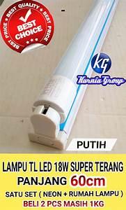 Jual Lampu Tl Led 9w Neon Putih Panjang    Led Tube 9 Watt