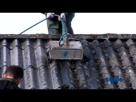 aquila triventek cleaning  asbestos roof  high