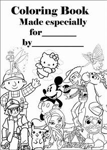 disney coloring pages coloring book personalised cover With switchcover3