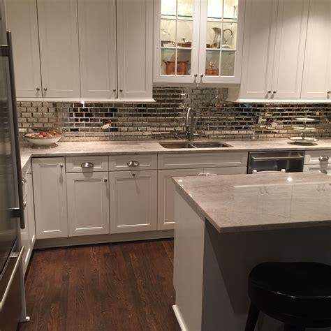 Mirrored Backsplash In Kitchen by Mirrored Subway Tile Kitchen Backsplash 2016 Home Decor