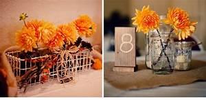 elegant fall wedding decoration with mason jarsWedWebTalks ...