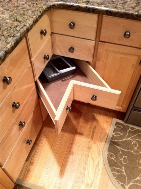 how to make kitchen cabinet drawers diy corner cabinet drawers home design garden 8745