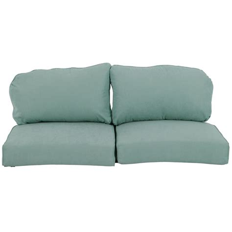 Patio Loveseat Cushion by Martha Stewart Living Bay Lake Adela Surf Replacement