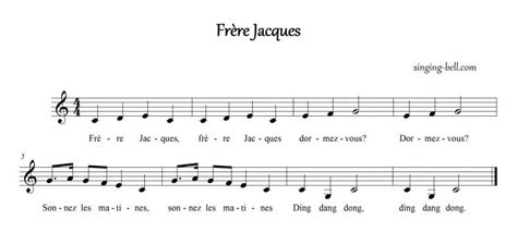 Frère Jacques (are You Sleeping?