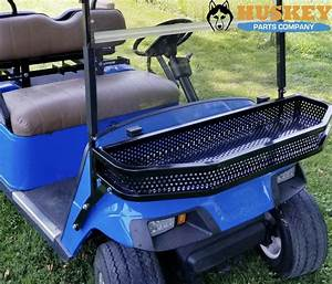 Front Clay    Cargo Basket For Ezgo Txt Golf Cart W