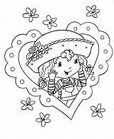 Strawberry Shortcake Coloring Pages Printable Cartoon Lemon sketch template