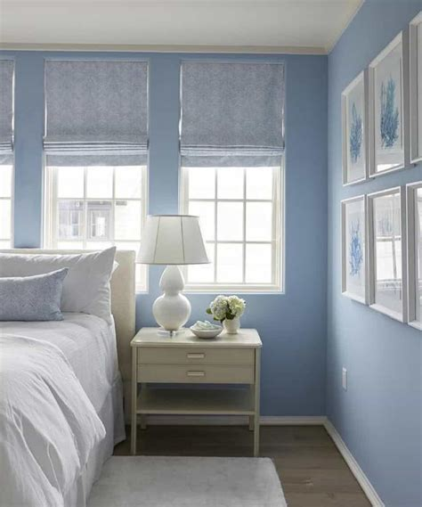 properly decorate  shades  blue