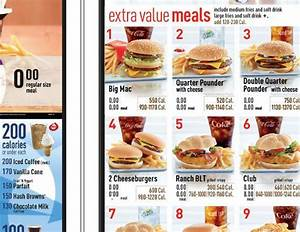 Image Gallery mcdonald's menu