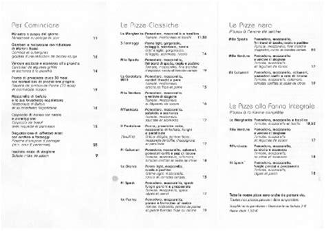 Traduction Carte Restaurant Italien faites de votre carte un atout la pizzetta pi 249 grande 224