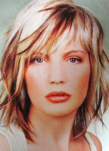 Carefully comb the color through hair. Hair Obsessed: Cool bangs + funky color (photo)