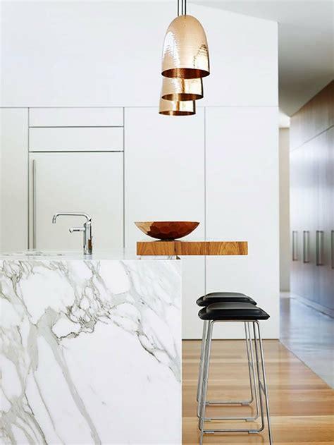 cuisine marbre plan de travail marbre sublimer sa cuisine avec un