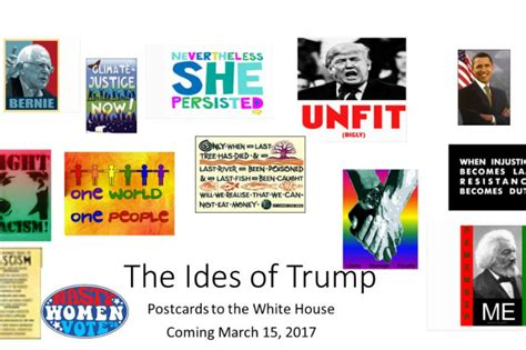 ides of trump postcard fundraiser by julie wochholz ides of postcard caign
