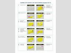 Campbell City Schools Calendars – Campbell, OH
