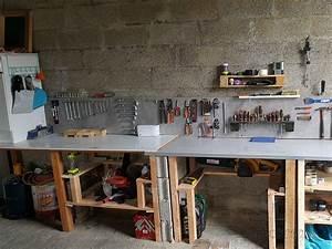 Etabli Fait Maison : etabli de garage comment faire un etabli de garage 4 ~ Premium-room.com Idées de Décoration