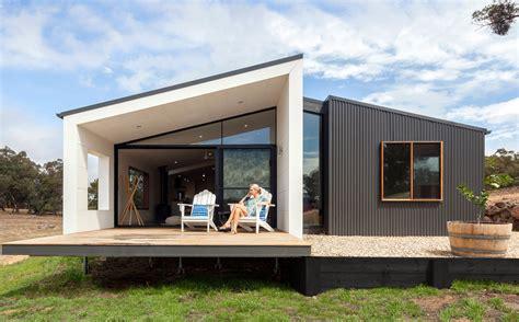 mid century modern fan prebuilt residential australian prefab homes factory