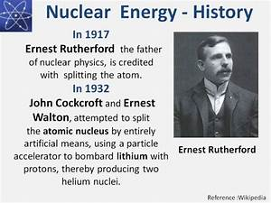 As The Father Of Nuclear Physics Ernest Rutherford Is
