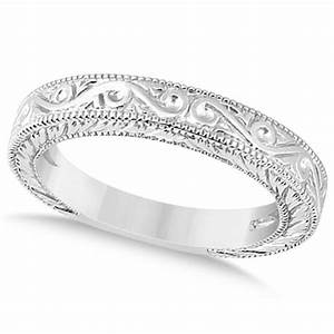 women39s unique filigree wedding bandmilgrain edge 18k With wedding rings filigree womens