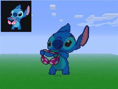 Pixel Stitch Holding A Bra