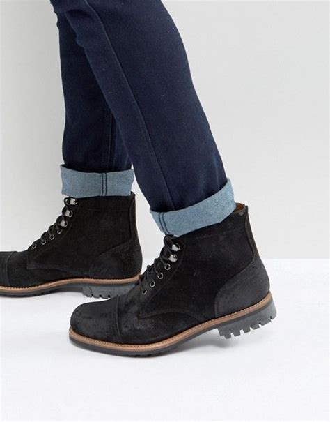 grenson radley suede lace  boots
