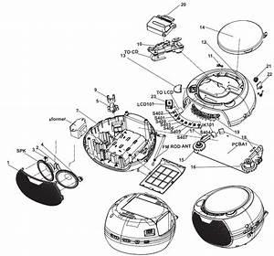 Electrotricks  Philips Az380  Az380s Cd Soundmachine
