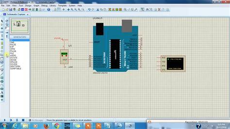 lm arduino proteus simulationcopy temperature sensor