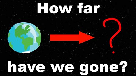 How Far Has Humanity Reached Into The Universe Youtube