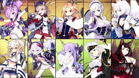 azur lane yuukyuu  catharsis  characters switching