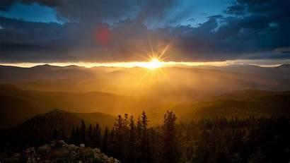 Morning Sun Wallpapers Dawn Mountains