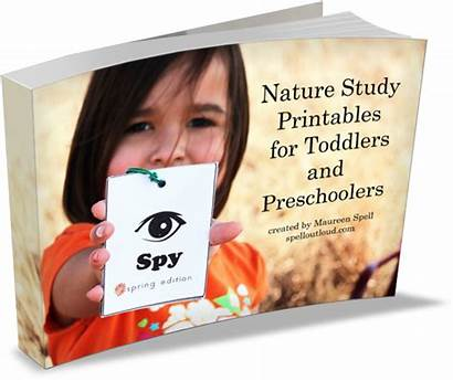 Nature Study Preschool Printables Preschoolers Toddlers Spell