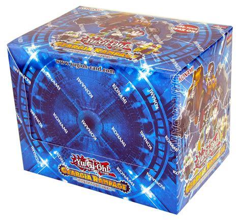 Konami Yugioh Geargia Rampage Structure Deck Box Da