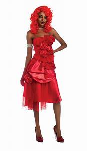 deguisement rihanna robe luxe rouge deguizeo With rihanna robe rouge
