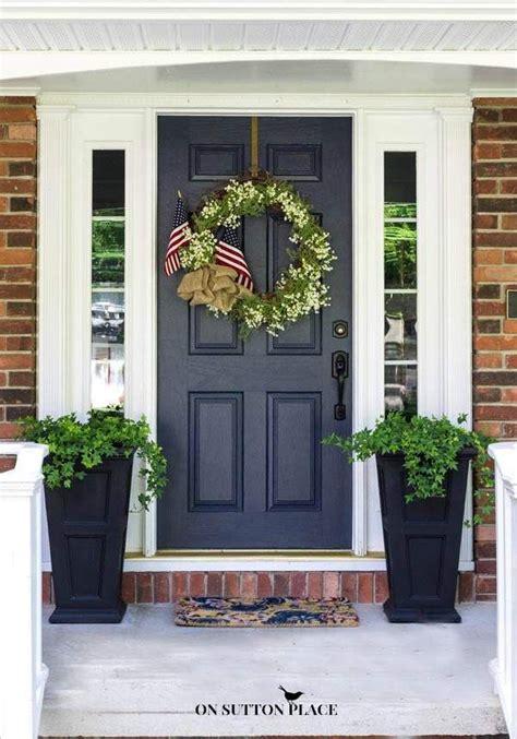 patriotic porch decor ideas  summer  sutton place