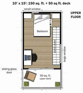 Simple Elegance In This Two Story, 350 sq ft Micro Home